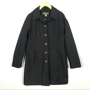 Eddie Bauer Water Resistant Trench Coat